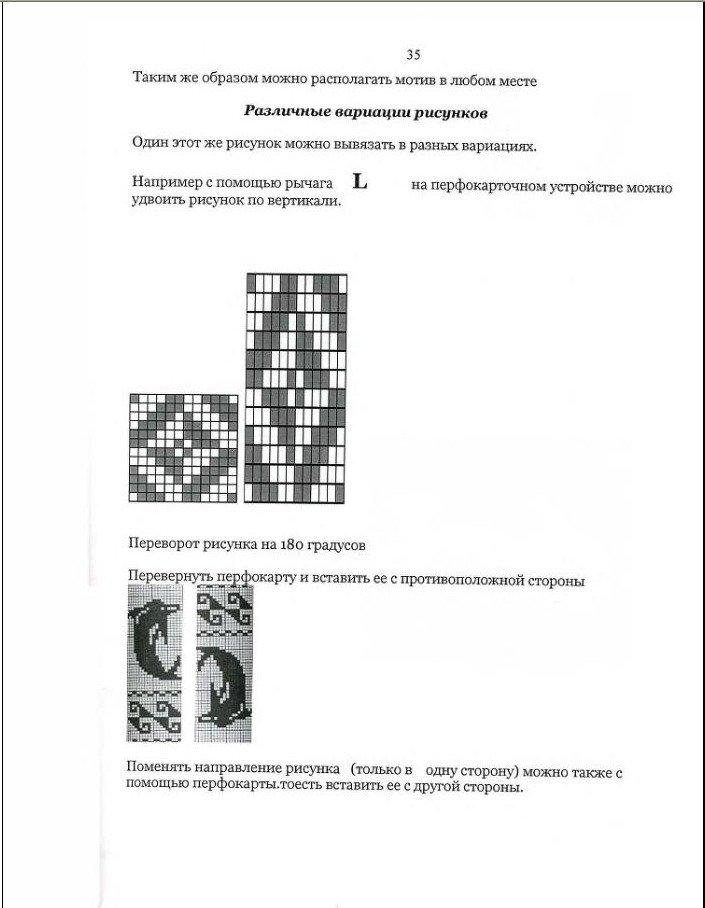 Начальный курс по обучению вязания на вязальной машине SILVER REED   - Страница 4 975b54120218