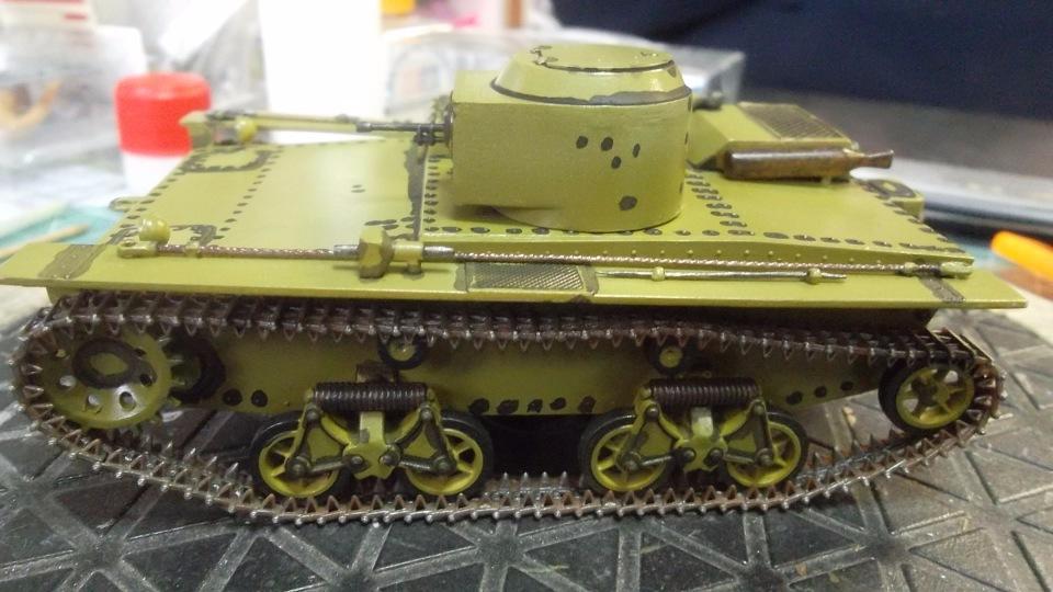 Т-38 малый плавающий танк, 1/35, (Восточный экспресс 35002 / MSD 3522 / AER Moldova). 3dda4d207389
