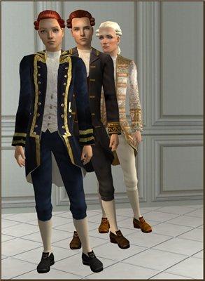 Старинные наряды, костюмы - Страница 2 Cd7f7e73c695