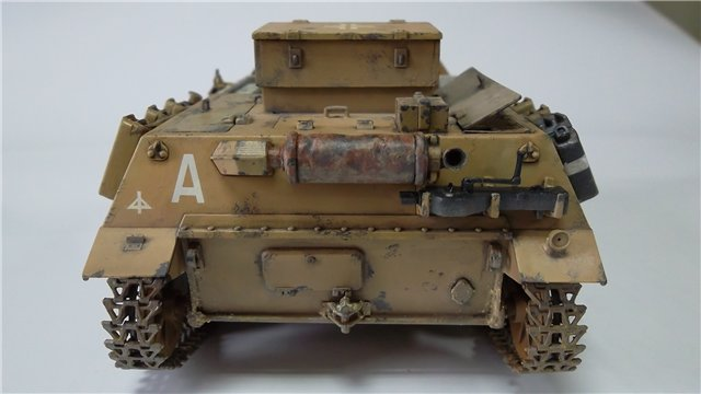 15 cm sIG auf Fahrgestell Pz II или Sturmpanzer II, 1/35, (ARK 35012) 84b46ecff14f