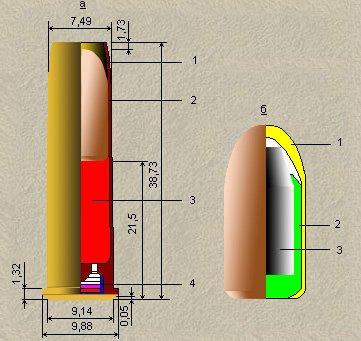 Патрон 7,62×38 мм Наган (ММГ) 7196881d3937