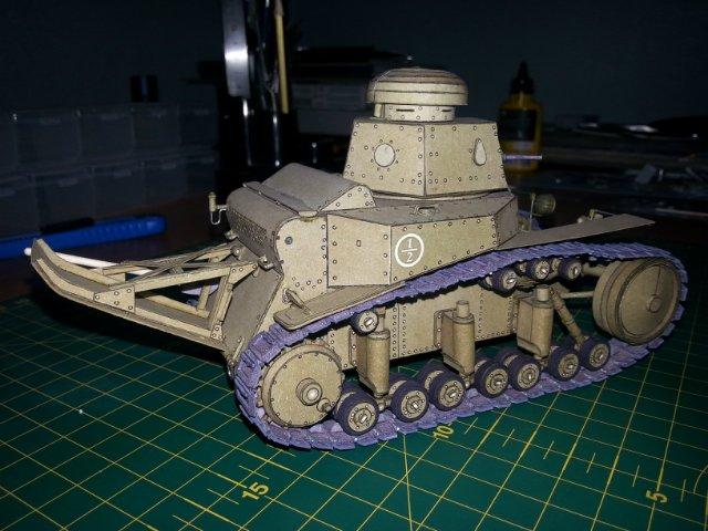 Т-18 (МС-1) Бумажное моделирование №45 0fd5e076f9ea