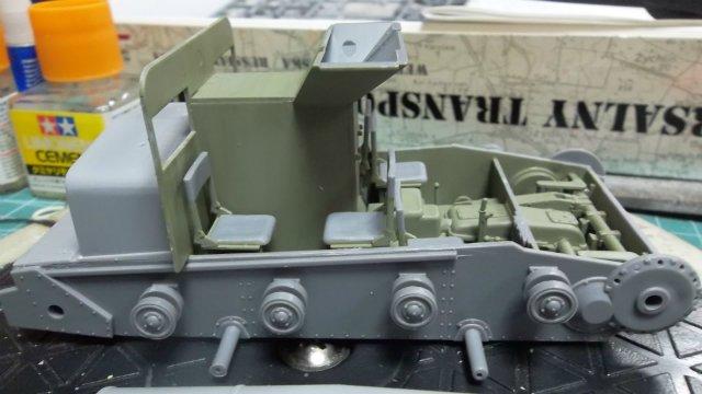 Тягач Т-26 / трофейный польский С7Р, 1/35, (Mirage hobby 35903). 30112118c47b