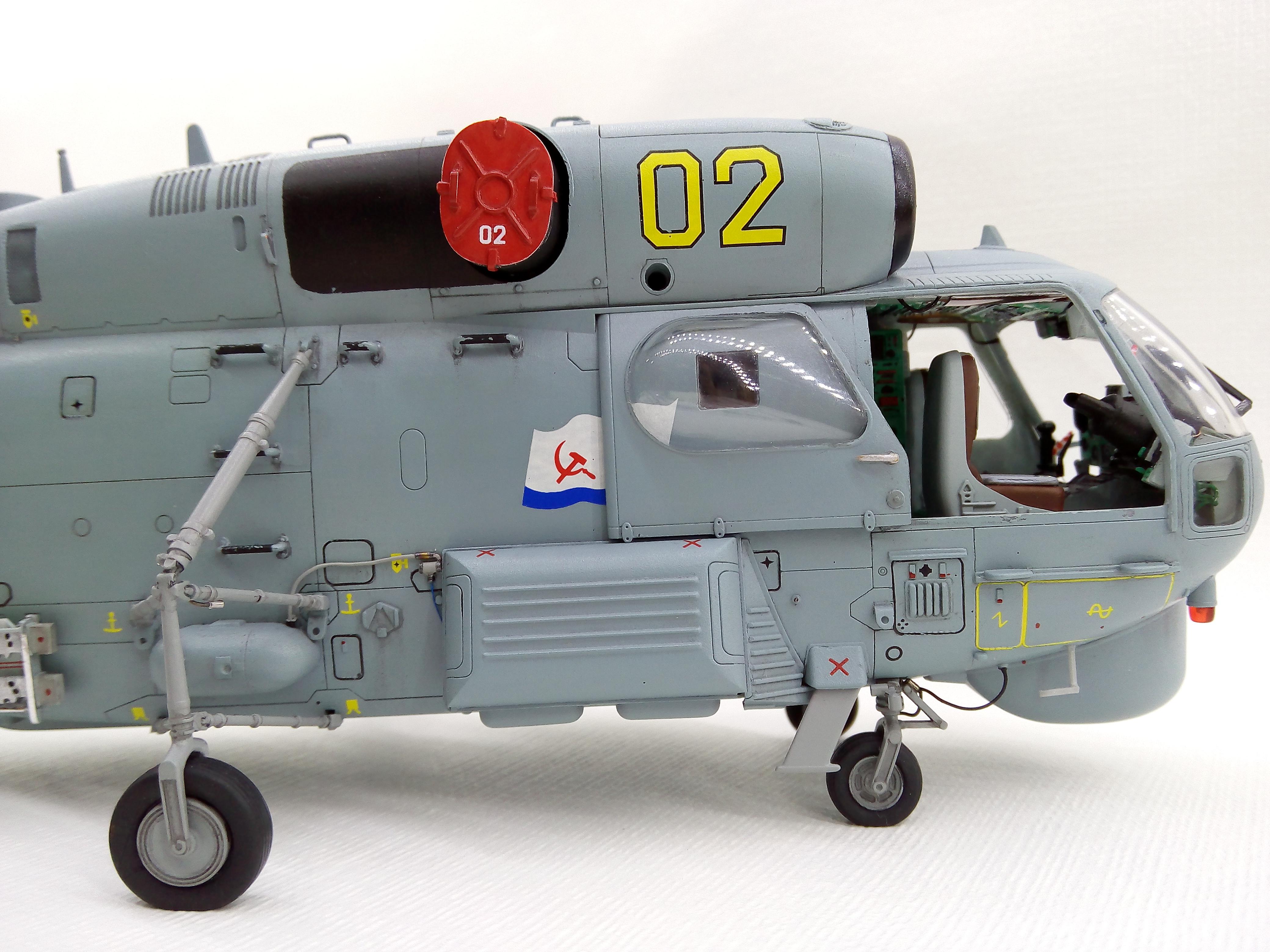 Ка-27ПЛ 1/48 HOBBYBOSS - Страница 4 69db0a038ad3