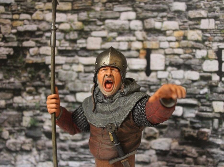 "2 шиллинга 5 пенсов ""Medieval guard"", Автор: Дмитрий Фурсов, г. Тамбов. 2590743b964c"
