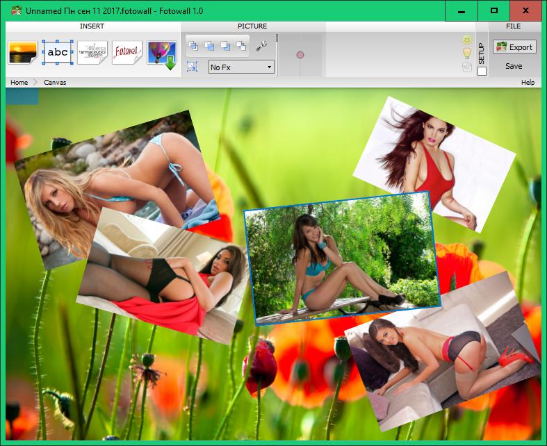 Fotowall графический редактор C0262a0d9a6e