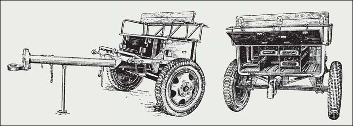 Советский артиллерийский передок 52-Р-353M обр.1942 г., 1/35, (MiniArt 35115). 7290c31c8656