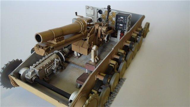15 cm sIG auf Fahrgestell Pz II или Sturmpanzer II, 1/35, (ARK 35012) 96286758809d
