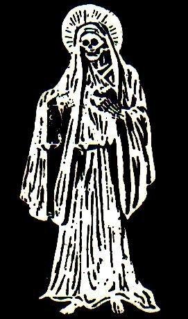 Santa Muerte. Святая Смерть 73c128940d51
