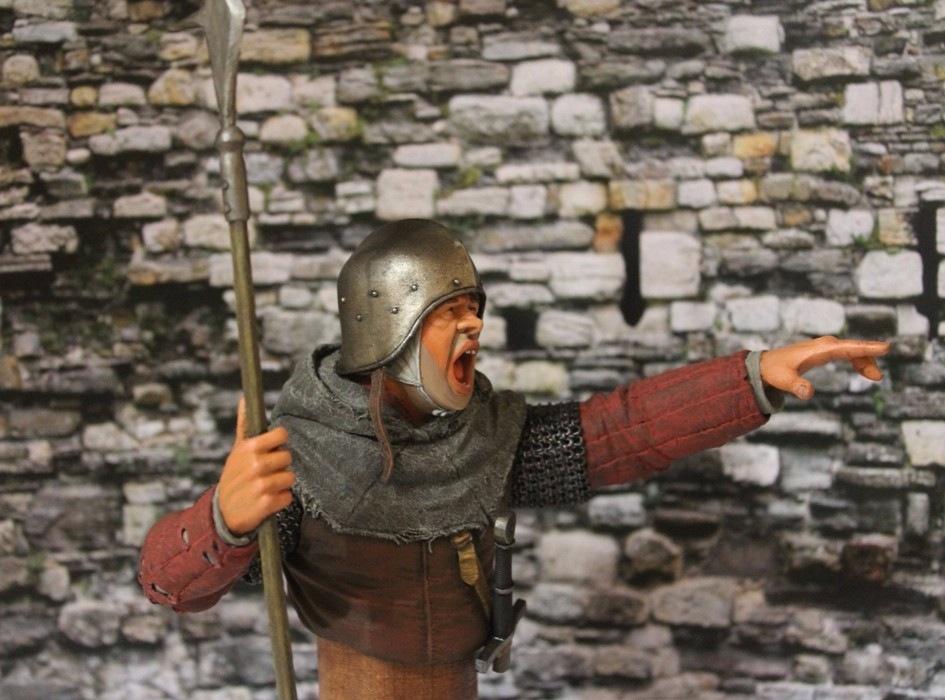 "2 шиллинга 5 пенсов ""Medieval guard"", Автор: Дмитрий Фурсов, г. Тамбов. A551418bde90"