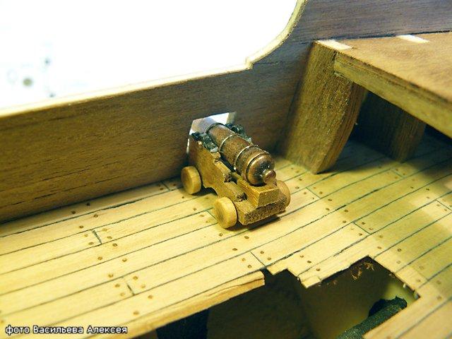 Галеон GOLDEN HIND (Золотая лань) ЖЕЛЕЗНОГО ПИРАТА масштаб 1:53 F505e22dd6d2