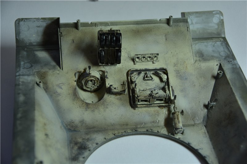 Т-34/85 model 1944г. Factory №. 174 маштаб 1/16 Trumpeter D58863c4441e
