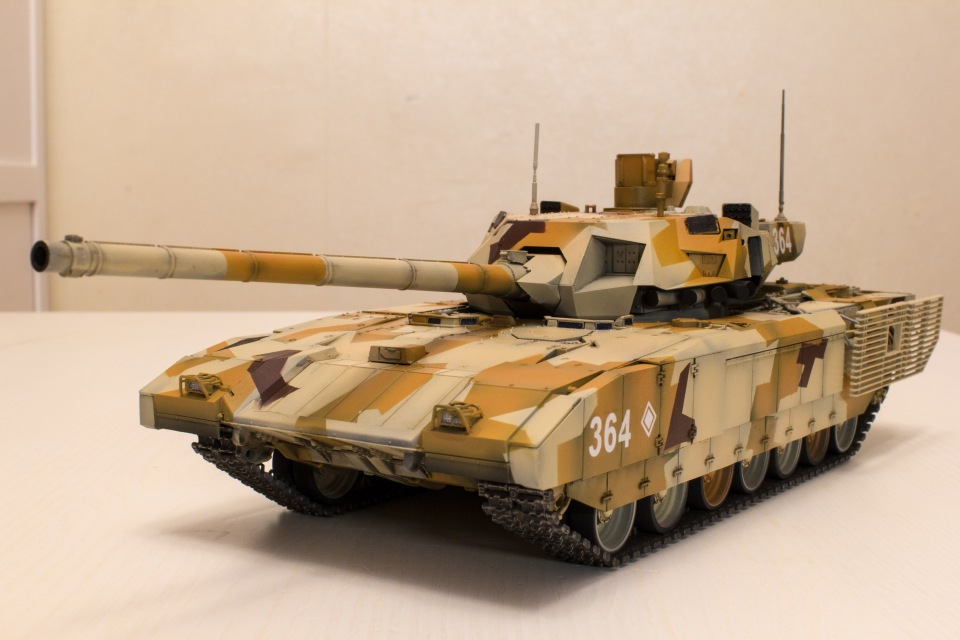 Т-14 Армата. Звезда, 1:35 2a6c93c0ae66