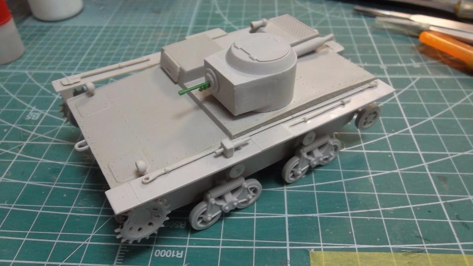 Т-38 малый плавающий танк, 1/35, (Восточный экспресс 35002 / MSD 3522 / AER Moldova). A17de2ea4b6f