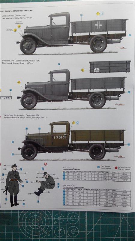 GAZ - AA Cargo truck MiniArt 1:35  3825ec9b3e9a