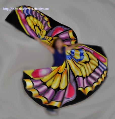 Крылья  для танца живота. 8f95a3062f99