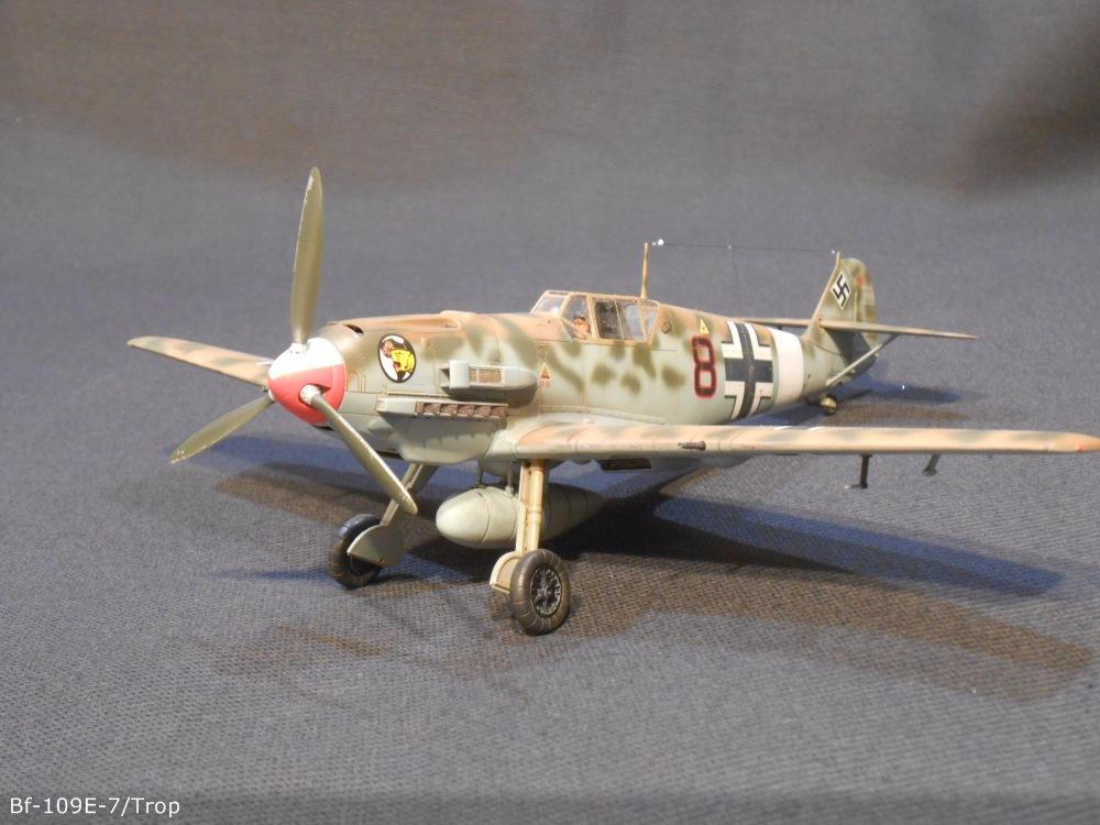 Bf 109 E7/Trop Tamiya 1:48 9b9c9ee45dc6