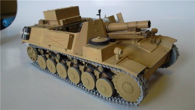 15 cm sIG auf Fahrgestell Pz II или Sturmpanzer II, 1/35, (ARK 35012) Ebfc07ec26dc