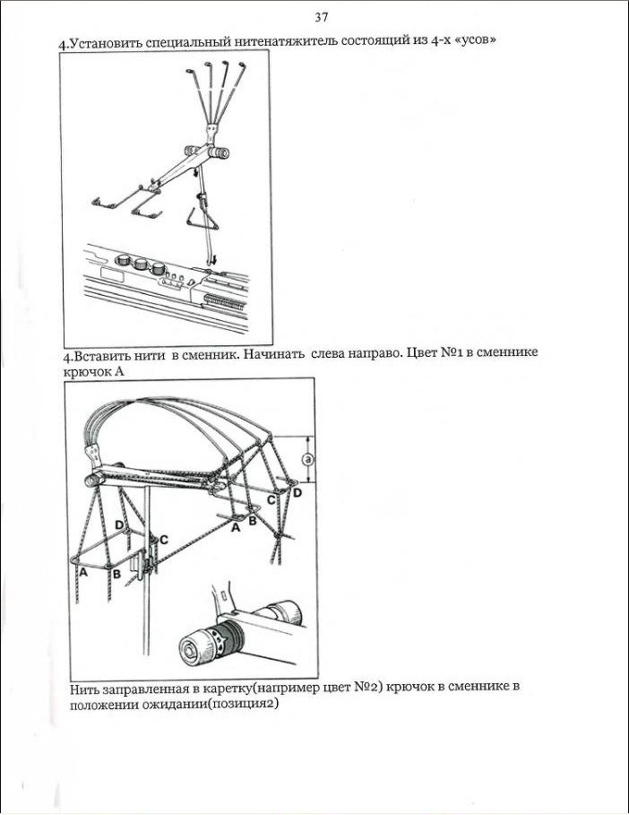 Начальный курс по обучению вязания на вязальной машине SILVER REED   - Страница 4 81267de215a9