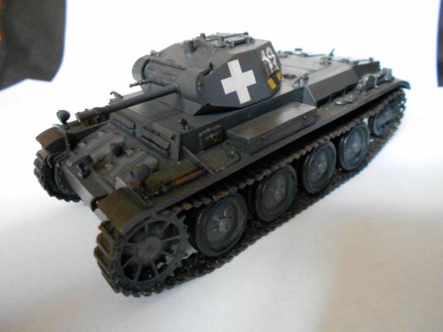 Pz.Kpfw.II Ausf.D 1/35 (Арк Модел) Be23cde426b6