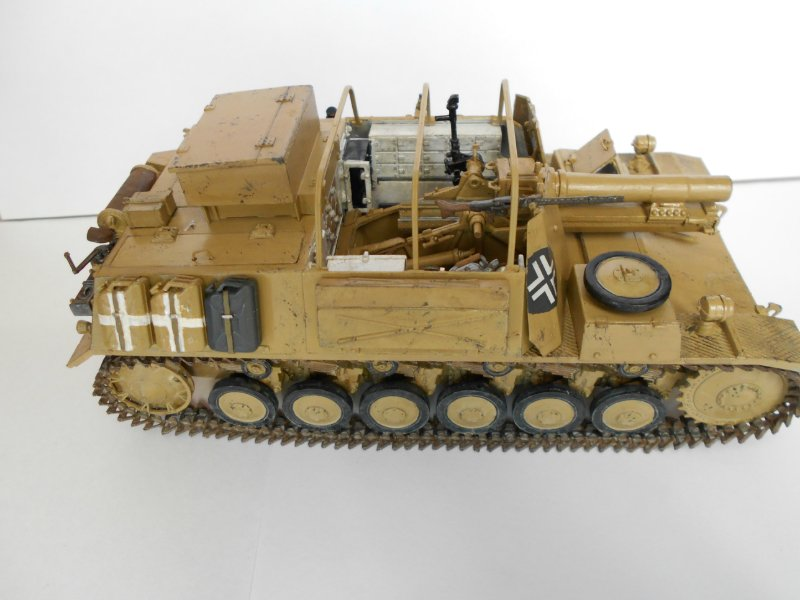 Немецкое 150-мм самоходное орудие Штурмпанцер II 1/35 (Арк модел) 8c168b3e0670