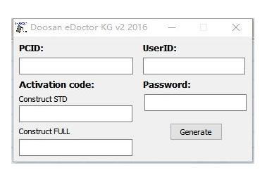 Doosan eDoctor  keygen 2.3.x.x F9024e2e25f8