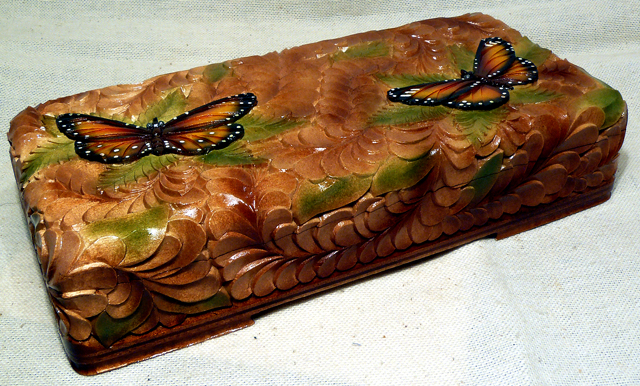 Свадебная шкатулка с бабочками 9beb1ba29e50