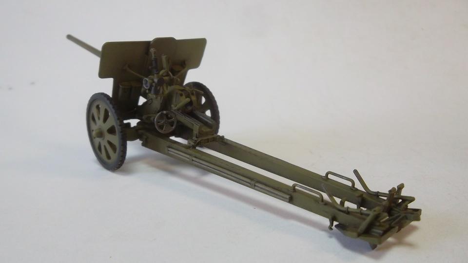 76-мм Дивизионная пушка Ф-22 обр.1936г., 1/35, (ICM 35702). 327030e433b7