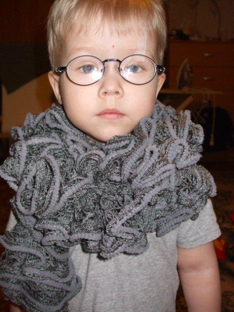 Вязаная шаль, шарфы - Страница 4 57688911cbca