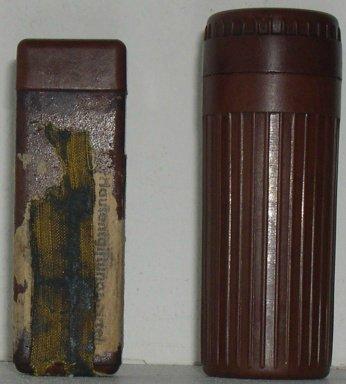 "Пенал от Hautentgiftungmittel - средства для обеззараживания кожи (""лозантинница"") F82423049713"