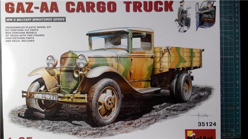 GAZ - AA Cargo truck MiniArt 1:35  5dcb84194b01