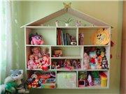Продам полки для хранения игрушек в форме домика. E1107dab4dd2t