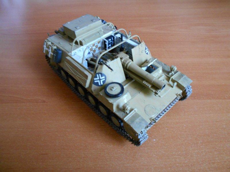Немецкое 150-мм самоходное орудие Штурмпанцер II 1/35 (Арк модел) 23386213807b