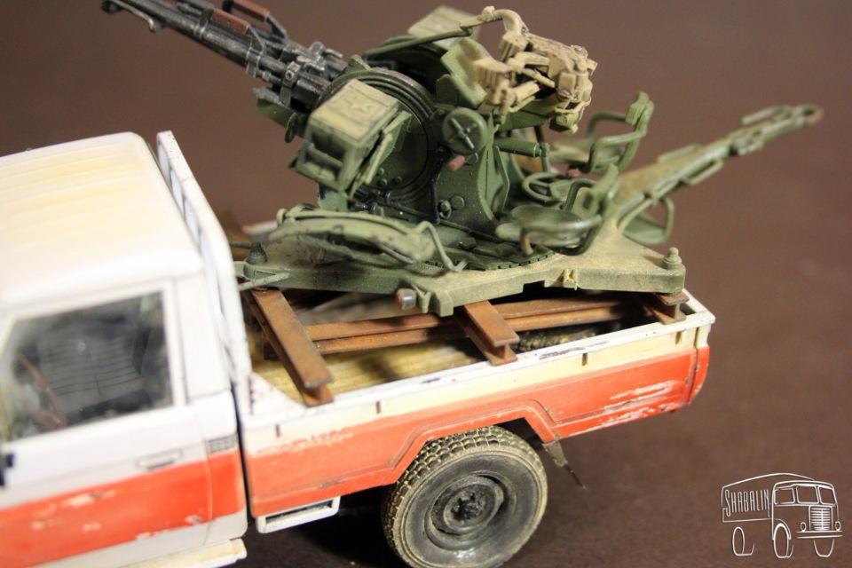 PickUP w/ZU-23-2 от Meng, масштаб 1/35 A278d4f4c997