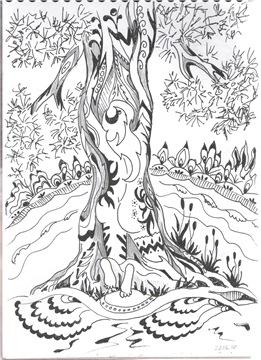 Рисунки ручкой Fa4908168921t