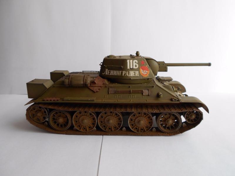 Т-34/76 выпуск начала 1943г 1/35 (Моделист №303529) - Страница 2 D6831a91df68