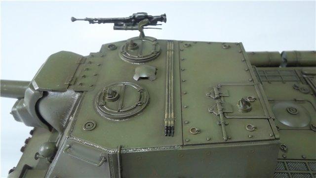 """ИСУ-152 """"Зверобой"""", 1/35, (Звезда 3532) перекраска старой модели. 6f4e472b4d21"""
