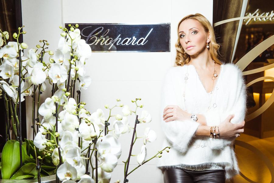 Татьяна Навка - официальный посол бренда Chopard 7cc4efb12a7c