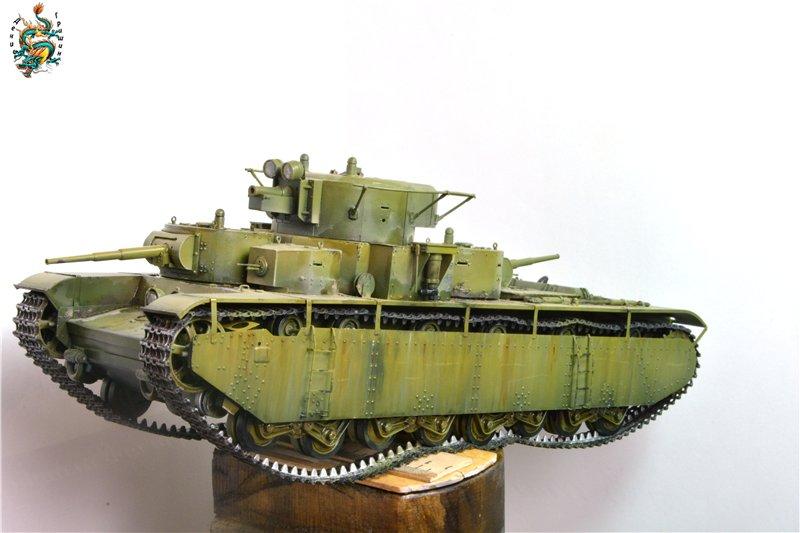 Soviet T-35 Heavy Tank Hobby/Boss 1/35 21321b7337ff