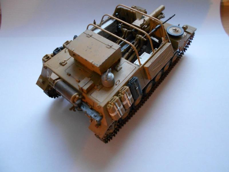 Немецкое 150-мм самоходное орудие Штурмпанцер II 1/35 (Арк модел) 290d457da122