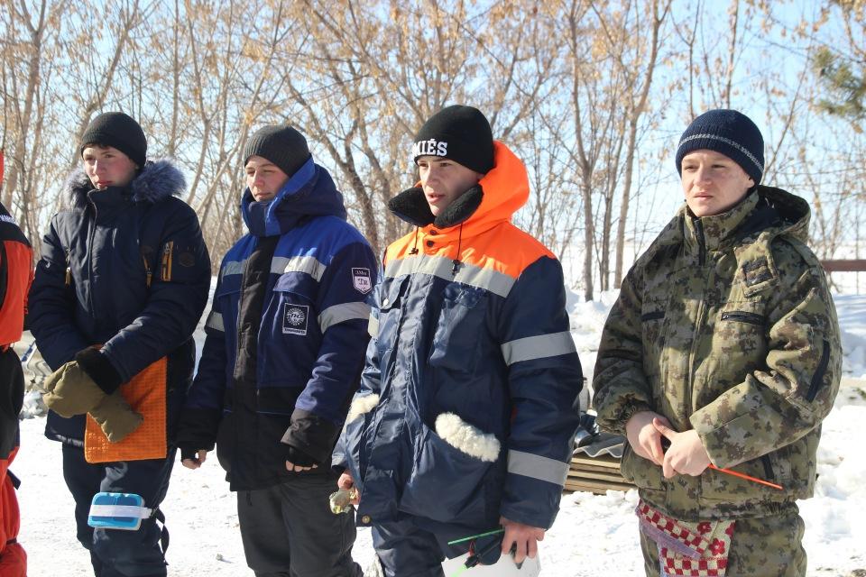 Первенство города Кургана по ловле на мормышку со льда среди юношей и девушек с 14 до 17 лет. C570072916b7