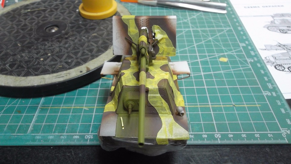 ЗиС-30 Противотанковая самоходная установка, 1/35, (MSD 35014). 6cc06b565822