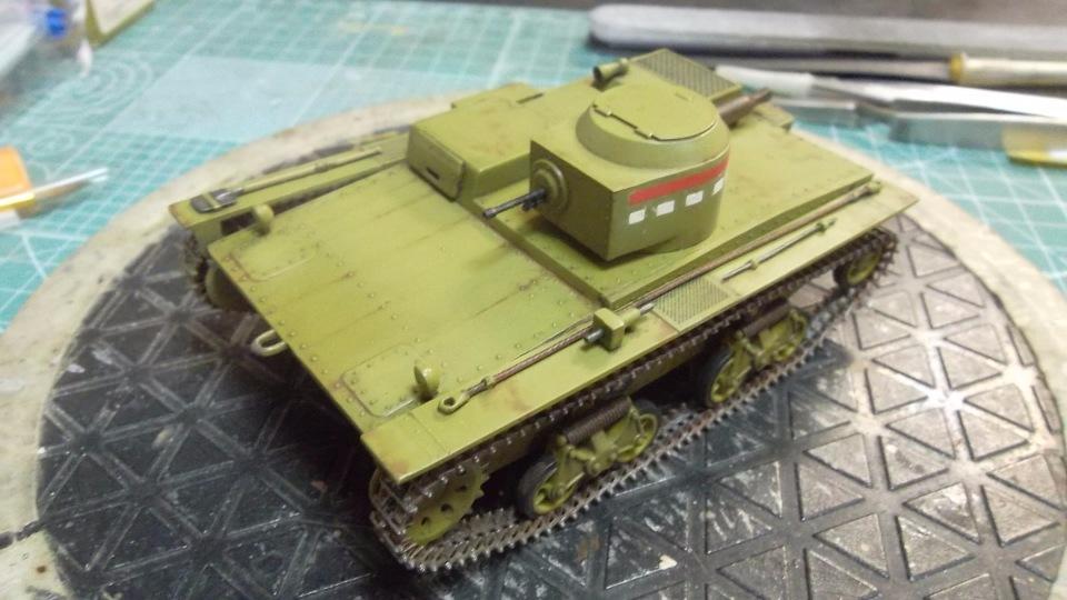 Т-38 малый плавающий танк, 1/35, (Восточный экспресс 35002 / MSD 3522 / AER Moldova). 6a61a4cac1e0