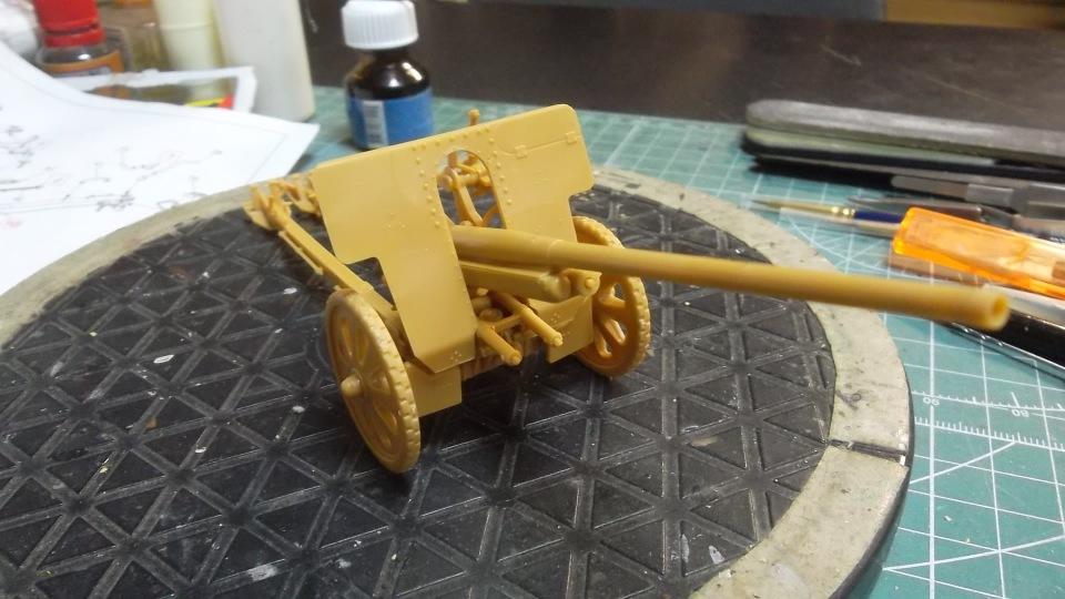 76-мм Дивизионная пушка Ф-22 обр.1936г., 1/35, (ICM 35702). 251f289de297