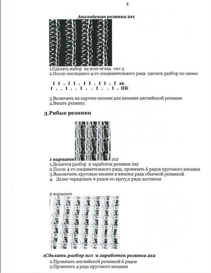 Начальный курс по обучению вязания на вязальной машине SILVER REED   - Страница 3 B9cf1ac526d2