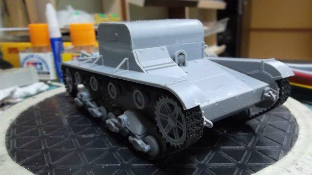Т-26Т артиллерийский тягач, 1/35, (RPM 35072). 0cb05f1f257b