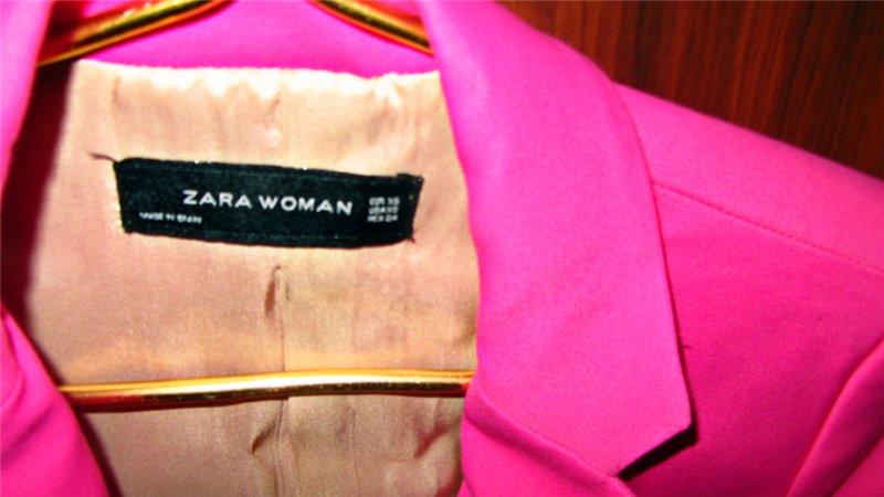 Брендовый пиджак Zara размер 42 11091478822d