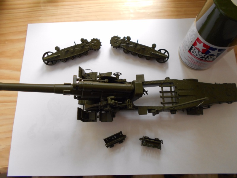 Советская 203-мм гаубица Б-4 1/35 (Alan №3522) - Страница 2 13352f433478