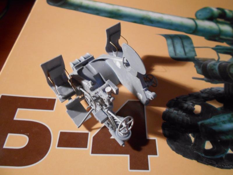 Советская 203-мм гаубица Б-4 1/35 (Alan №3522) F93678ed6317