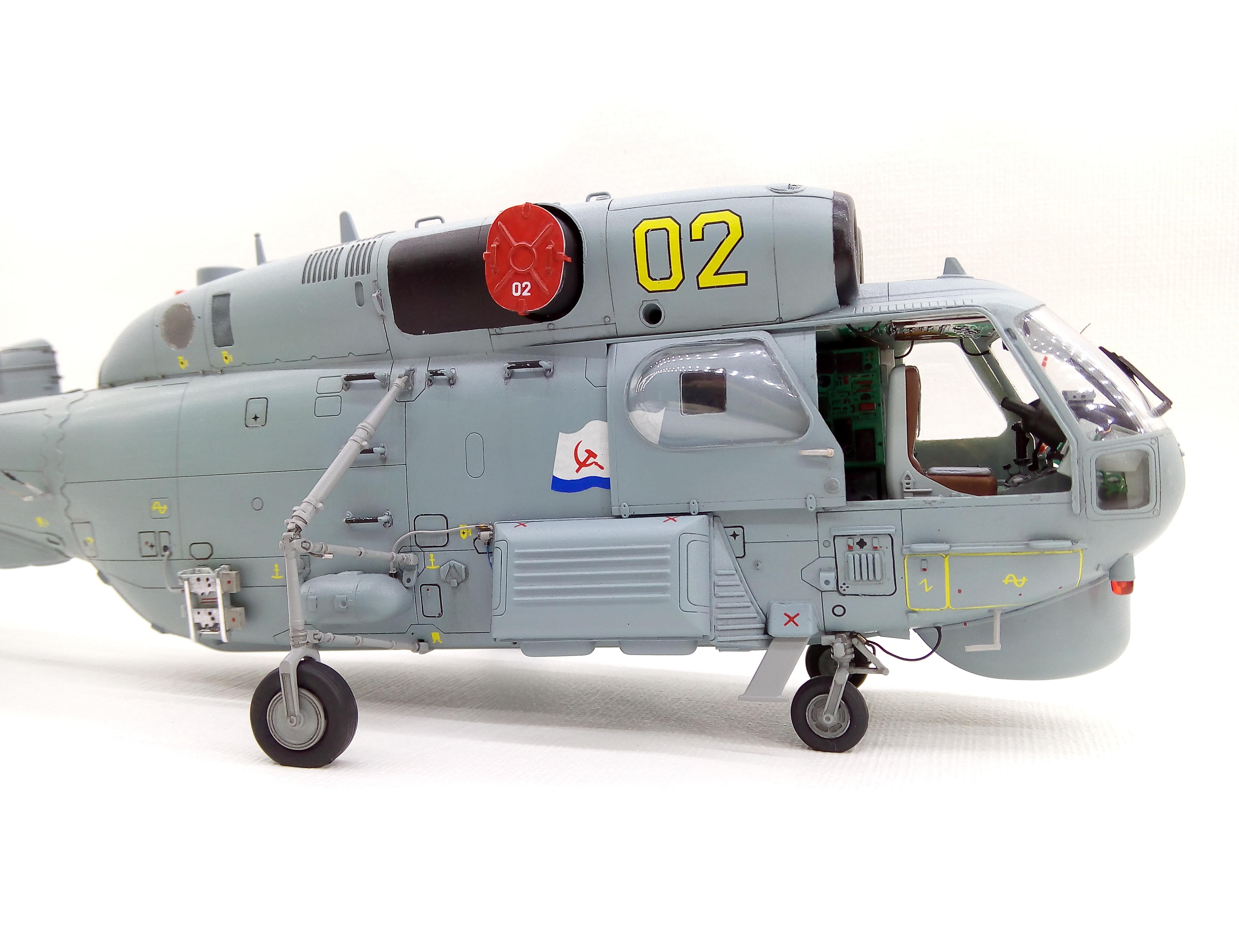 Ка-27ПЛ 1/48 HOBBYBOSS - Страница 4 9c97e121d324